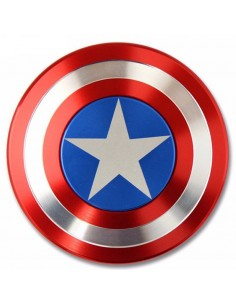 Fidget Spinner Aluminium Capitán America