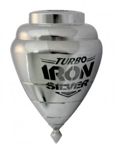 Trompo Turbo Iron Silver