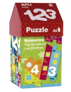 Puzzle Casita 123