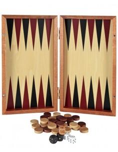 Backgammon Madera Plegable