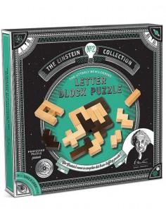 Einstein´s Letter Block Puzzle
