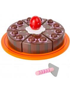 Juego Corta la Tarta de Chocolate