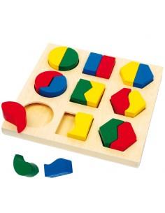 Puzzle Encaje Forma Parejas