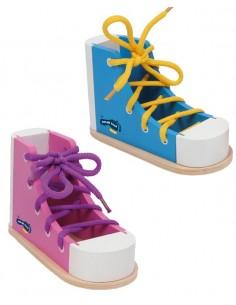 Juego Ata los Zapatos