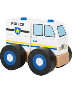 Puzzle Apilable Coche de Policía