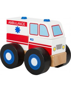 Puzzle Apilable Ambulancia