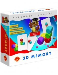 Juego Memory 3D
