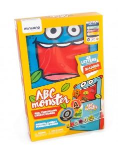 Juego Lanza Letras ABC Monster