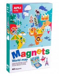 Juego Magnético Mapamundi