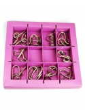 Set 10 Mini Metal Puzzles M
