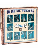 Set 10 Mini Metal Puzzles A