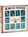 Set 10 Mini Metal Puzzles A