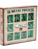 Set 10 Mini Metal Puzzles V