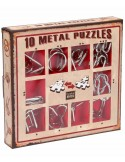 Set 10 Mini Metal Puzzles R