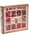 Set 10 Mini Metal Puzzles R