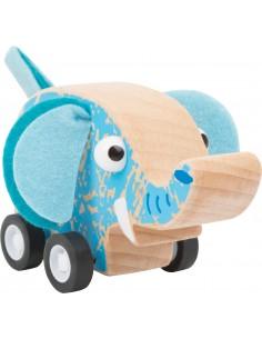 Vehículo retráctil Elefante