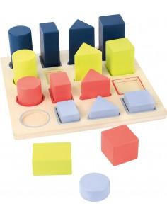 """Puzzle encajable geométrico """"Educate"""""""