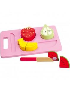 Bandeja corta la fruta