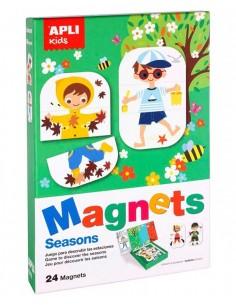 Juego Magnético Estaciones de Año
