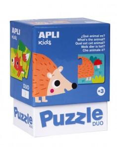 Puzzle Dúo ¿Qué animal es?