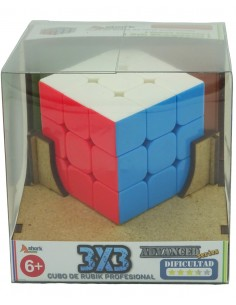 Cubo Shark 3x3 Stickerless en caja regalo