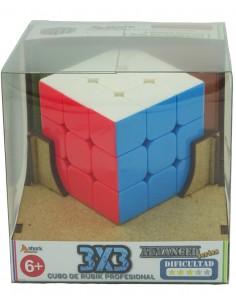 Cubo Shark 3x3 Stickerless en caja regalo