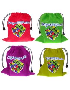 Bolsa Terciopelo Cubos Rubik