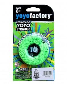 Pack Cuerdas Yoyo Factory Verdes