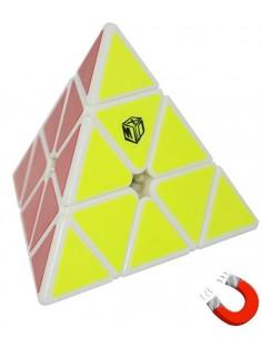 Qiyi Pyraminx X-Man Magnetic Blanca