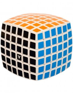 V-cube 6x6 Pillow Blanco