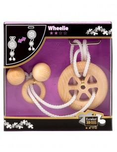 Rompecabezas de madera Wheelie
