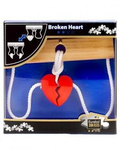 Rompecabezas de madera Broken Heart