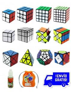 Mega Pack Cubos de Rubik Qiyi