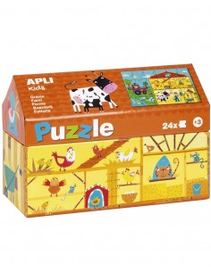 Puzzle Casita La Granja