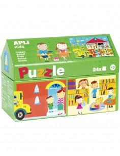 Puzzle Casita Colegio