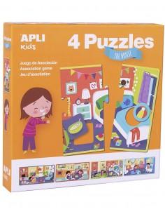 Puzzle Asociativo La Casa