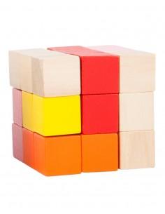 Cubo Elastic Rojo-Rosa