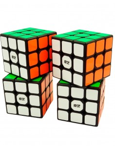 Pack Cubos de Rubik Qiyi 3x3
