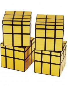 Pack Cubos de Rubik Qiyi Mirror Oro