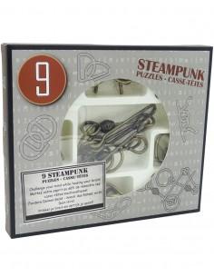 Set 9 Metal Puzzles Steampunk G