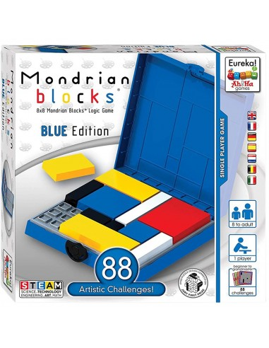 Mondrian Blocks Blue Edition