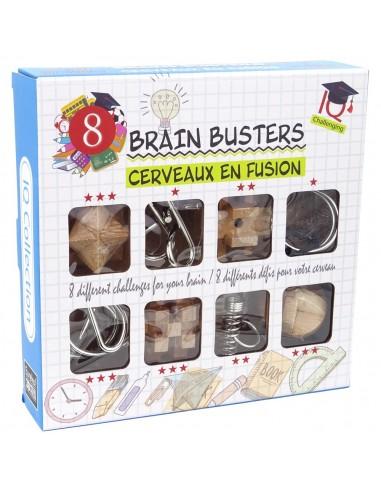 Set Rompecabezas Brain Busters