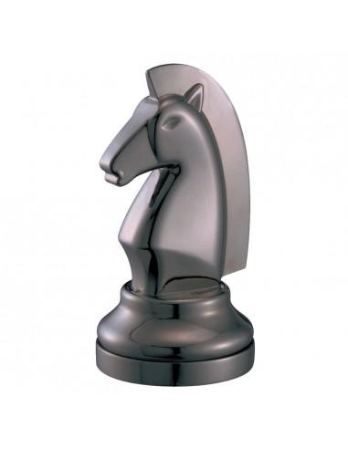 Cofre Cast Chess Caballo Negro