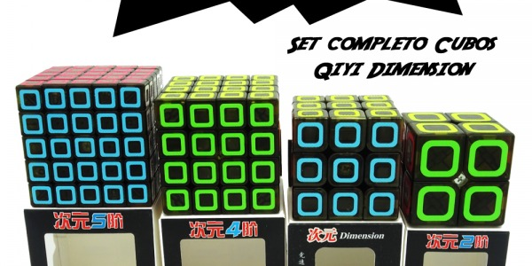 Sorteo!!! Set Completo Cubos Qiyi Dimension